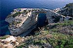 Îles Ioniennes Tripitos Arch, Paxos, Grèce, Europe