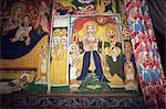Monastery paintings, Zeghe, Lake Tana, Ethiopia, Africa