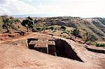 Bet Giorgis church, Lalibela, UNESCO World Heritage Site, Ethiopia, Africa