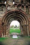 Temps Prieuré de St. Botolph datant de Norman, Colchester, Essex, Angleterre, Royaume-Uni, Europe