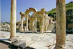 Temple d'Hadrien, Eurasie Ephèse, en Turquie,