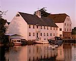 Hambleden Mill on the River Thames, near Henley, Buckinghamshire, England, United Kingdom, Europe