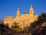 East front of the Casino, Monte Carlo, Monaco, Europe