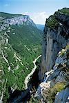 Rivière Verdon dans le Grand Canyon du Verdon, Alpes de Haute Provence, Provence, France, Europe
