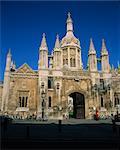 The East front of Kings College, Cambridge, Cambridgeshire, England, United Kingdom, Europe