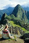 Machu Picchu, au Pérou, en Amérique du Sud