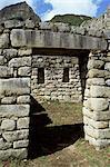 Royal Sector, Inca site, Machu Picchu, UNESCO World Heritage Site, Peru, South America