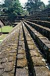 Maya Acropole datant du 8ème siècle après JC, Quirigua, UNESCO World Heritage Site, Guatemala, Amériquecentrale