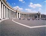 St. Peter's Square, Vatican, Rome, Lazio, Italy, Europe