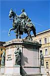 Monument to Ludwig I, Odeonsplatz, Munich, Bavaria, Germany, Europe