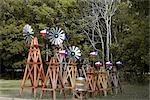 Windmills, Texas, USA