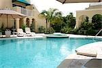 Pool Area at Resort Condominiums, Turks and Caicos