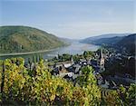 Bacharach, Rhine Valley, Germany, Europe