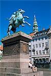 Monument d'Absalon, Hojbro Plads, Copenhague, Danemark, Scandinavie, Europe