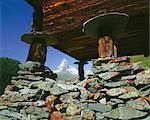 Le Cervin (4478m) Findeln, Valais (Wallis), Alpes suisses, Suisse, Europe