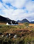 Landscape near Glencoe, Highland region, Scotland, United Kingdom, Europe