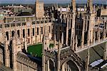 All Souls College and quadrangle, Oxford, Oxfordshire, England, United Kingdom, Europe
