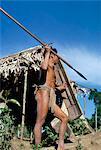 Kahukakahon warrior, Koloko, Sulawesi, Indonesia, Southeast Asia, Asia