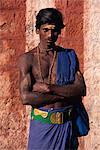 Pilgrim, Madurai, Tamil Nadu state, India, Asia