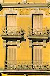 Balcons, Madrid, Espagne, Europe