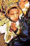 Der junge Mönch, become Shwedagon Pagode, Yangon (Rangoon), Myanmar (Birma), Asien