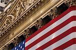 New York Stock Exchange, Wall Street, Manhattan, New York City, New York, États-Unis d'Amérique, l'Amérique du Nord