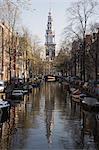 Zuiderkerk église, Amsterdam, Pays-Bas, Europe