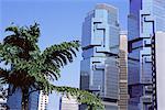 The Lippo Towers, Central, Hong Kong Island, Hong Kong, China, Asia