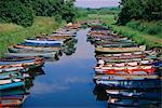 Boats, Killarney, County Kerry, Munster, Republic of Ireland (Eire), Europe