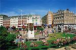 Mémorial dans le centre de Bournemouth, Dorset, Angleterre, Royaume-Uni, Europe