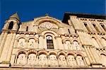 Low angle view of a church, Eglise Sainte-Croix, Bordeaux, France