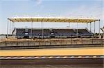 Facade of a stadium, Le Mans, France