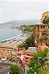 Building at the seaside, Sorrento, Sorrentine Peninsula, Naples Province, Campania, Italy