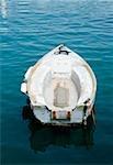 Stationne à la mer, la Riviera italienne, Mar Ligure, Santa Margherita Ligure, Gênes, Ligurie, Italie