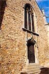 Entrance of a church, Eglise St-Benoit, Le Mans, Sarthe, France