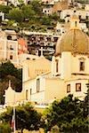 Low angle view of a church in a town, Chiesa di Santa Maria Assunta, Positano, Amalfi Coast, Salerno, Campania, Italy