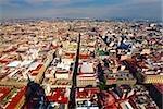 Aerial view of a city, Mexico city, Mexico
