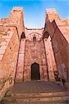 Low angle view of a church, Ex Templo De San Agustin, Zacatecas, Mexico