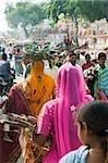 People at pushkar camel festival