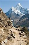 AMA dablam dans l'Himalaya
