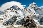 Mont everest et le lhotse