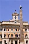 Chamber of Deputies, Montecitorio Square, Rome, Latium, Italy