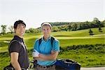 Men at Golf Course