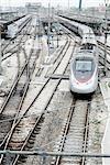 La gare, Bologne, Italie