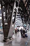 Gare centrale de Milan, Italie