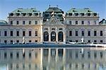 Palais du belvédère et jardins, Vienne, Autriche