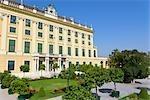 Au Palais de Schönbrunn et de jardins, Vienne, Autriche