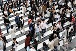 Menschen, Osaka, Osaka Präfektur, Region Kinki, Honshu, Japan