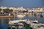 Marina, Cala En'Bosch, Menorca, îles Baléares, Espagne, Méditerranée, Europe