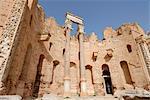 Severan Basilica, Leptis Magna, UNESCO World Heritage Site, Libya, North Africa, Africa